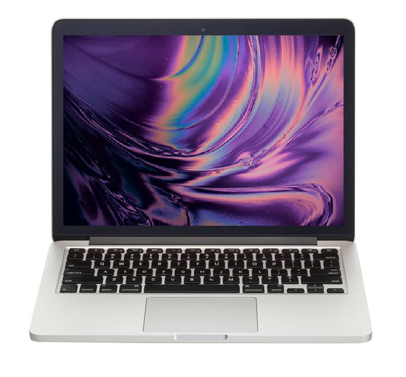 Template 2014.1 - Apple MacBook Pro 13-inch 2.6GHz Dual-Core i5 (Retina, 8GB RAM, 128GB SSD, Silver) - Pre Owned