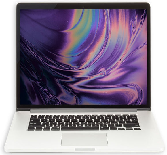 Apple MacBook Pro 15-inch 2.5GHz Quad-Core i7 (Retina, 512GB+256GB Jet Drive, Silver) - Pre Owned