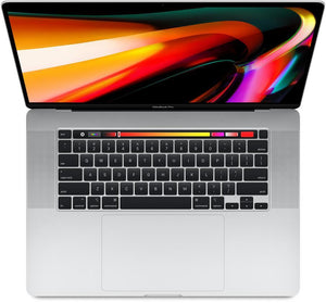 Template 2019.19 - Apple MacBook Pro 16-inch 2.6GHz 6-Core i7 (Touch Bar, 16GB RAM, 512GB SSD, Silver) - Pre Owned