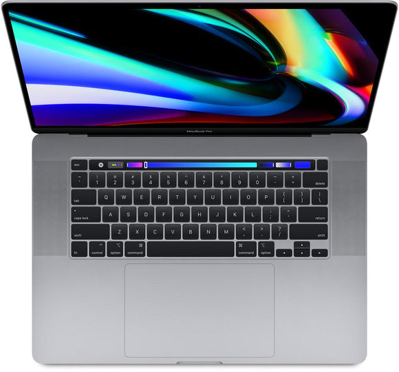 2019 Apple MacBook Pro 16-Inch 2.6GHz 6-Core i7 (Touch Bar, 16GB RAM, 512GB, Space Gray) - New Open Box Foreign Keyboard