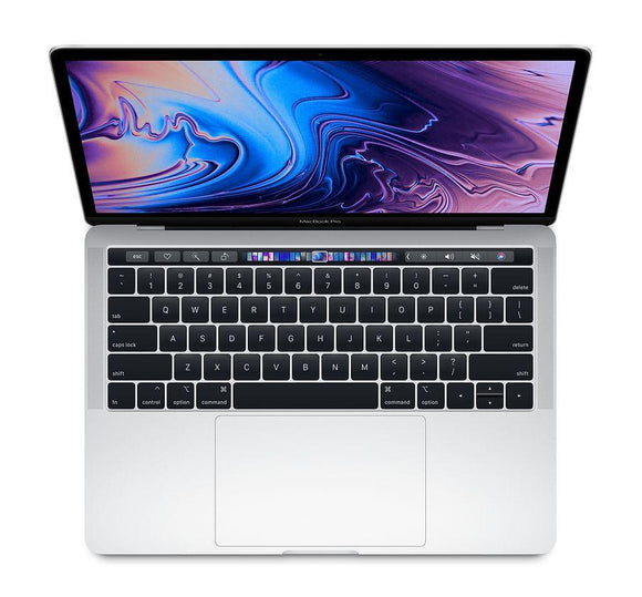 Apple MacBook Pro 13-inch 2.3GHz Quad-Core i5 (Touch Bar, 8GB RAM, 256GB, Silver) - Pre Owned