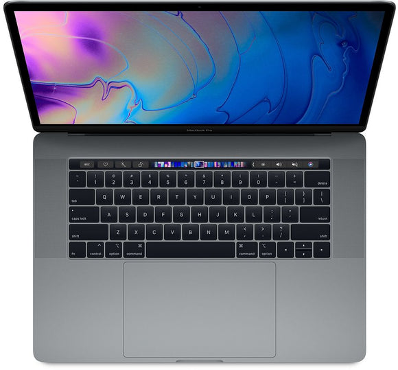 Apple MacBook Pro 15-inch 2.6GHz Quad-Core i7 (Touch Bar, 16GB RAM, 256GB, Space Gray) - Pre Owned