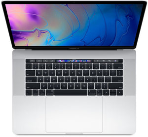 Apple MacBook Pro 15-inch 2.6GHz Quad-Core i7 (Touch Bar, 16GB RAM, 256GB, Silver) - Pre Owned