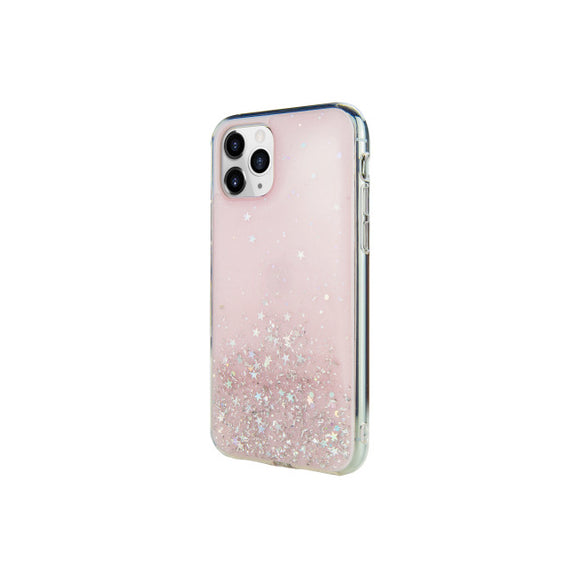 SwitchEasy Starfield Cover for iPhone 11 Pro - Transparent Rose