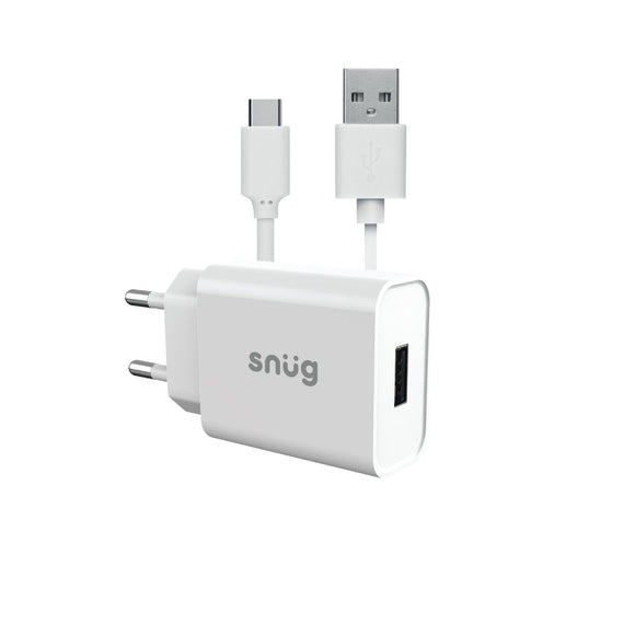 Snüg Lite 1 Port Wall Charger – Type C