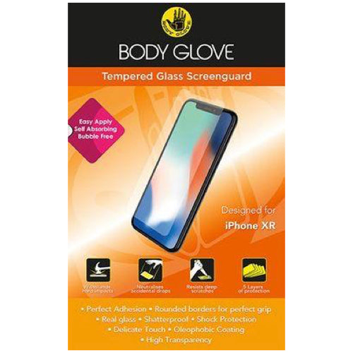 Body Glove Tempered Glass Screen Protector for Apple iPhone 11/XR (Clear) - Mac Shack