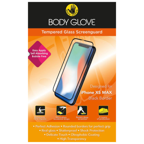 Body Glove Tempered Glass Screenguard for Apple iPhone XS Max