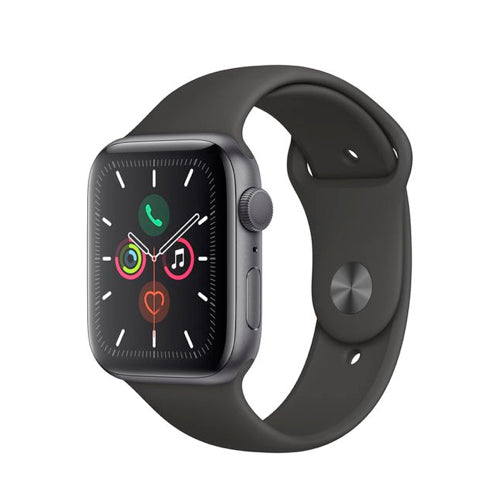 Apple Watch Series 5 (44mm, Space Gray Aluminum with Black Nike Sport Band) - Pre Owned