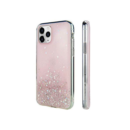 SwitchEasy Starfield Cover for iPhone 11 Pro Max - Transparent Rose