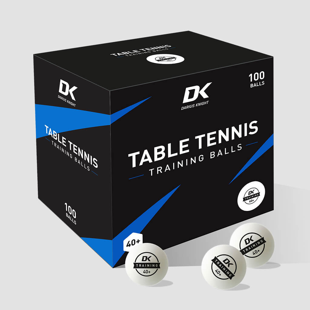 DK Training 40+ Table Tennis Balls 100 pack - DKSportsgoods