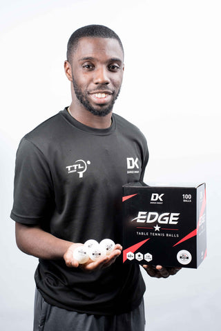 DK Edge 40+ 1 Star Table Tennis Balls 100 pack - DKSportsgoods