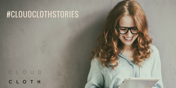 We all need a little bit of help to pull our stories together. Introducing #cloudclothstories