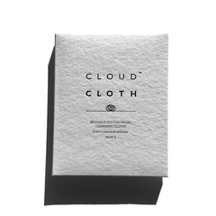 CloudCloth® Organic Cotton Cleansing Cloth Wipes 3 Pack