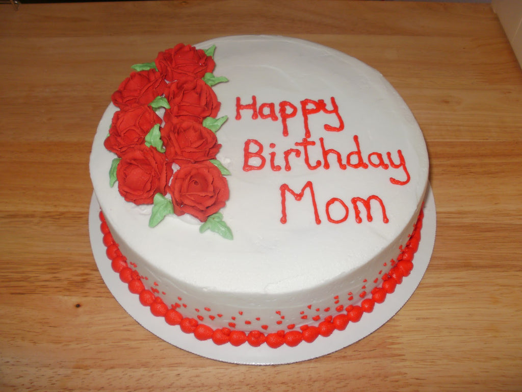 Mothers birthday cake 2 kg manchideal