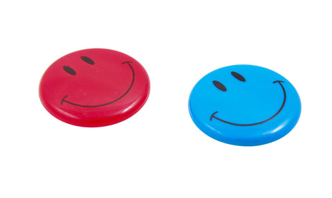 Zeüs Smiley Face Magnets 2 Pack ASSORTED (26620)