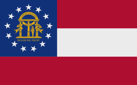 "Integrity Flags Georgia State Flag 36"" x 60"" (33529)"