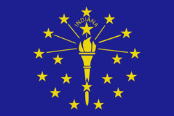 "Integrity Flags Indiana State Flag 36"" x 60"" (33533)"