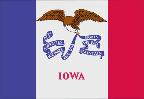 "Integrity Flags Iowa State Flag 36"" x 60"" (33534)"