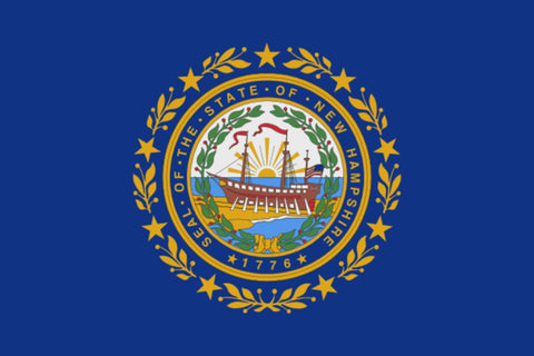 "Integrity Flags New Hampshire State Flag 36"" x 60"" (33548)"