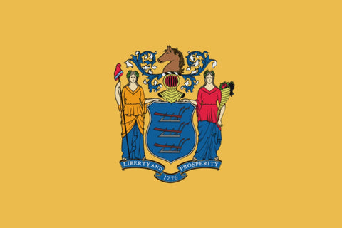 "Integrity Flags New Jersey State Flag 36"" x 60"" (33549)"