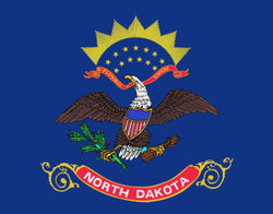 "Integrity Flags North Dakota State Flag 36"" x 60"" (33553)"