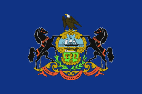 "Integrity Flags Pennsylvania State Flag 36"" x 60"" (33557)"