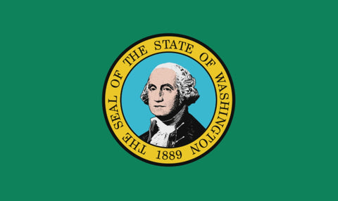 "Integrity Flags Washington State Flag 36"" x 60"" (33566)"