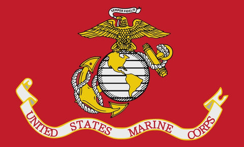 "Integrity Flags Marines Flag 36"" x 60"" (33570)"