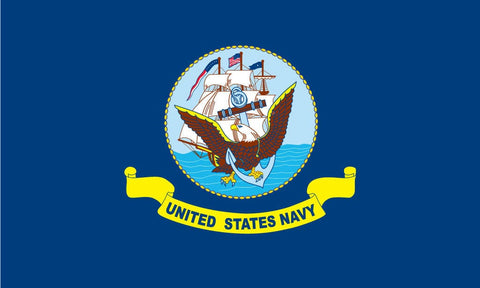 "Integrity Flags Navy Flag 36"" x 60"" (33571)"