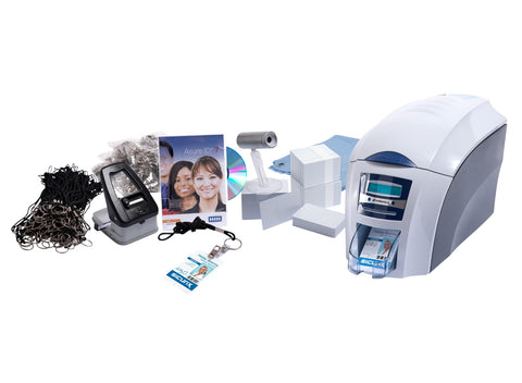 SICURIX Complete Professional Complete ID Printer Kit Single Sided 100 Card Hopper (3633 9001K2)