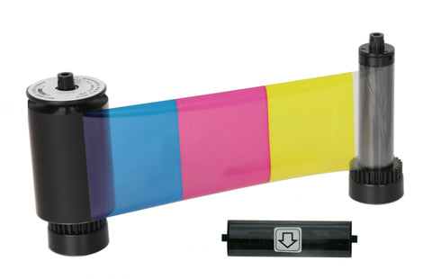 SICURIX 38001 Color Ribbon YMCKO 250 Prints (38001)