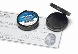 Baumgartens Inkless Fingerprint Pad with Adhesive BLACK (38010)