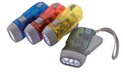 CONSERVE Easy Squeeze Emergency Flashlight ASSORTED Colors (42600)