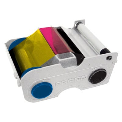 SICURIX Fargo 44200 Color Ribbon YMCKO 250 prints (44200)