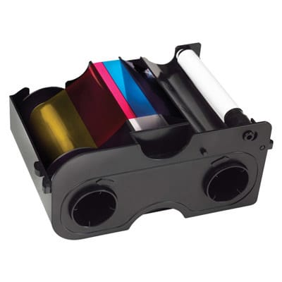 SICURIX Fargo 45100 Color Ribbon YMCKO 250 prints (45100)