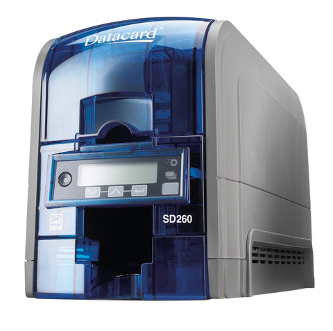 SICURIX Datacard SD260 ID Printer Single Sided 100 Card Hopper BLUE (535500-002)