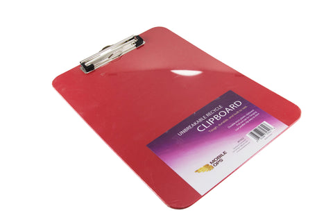Mobile Ops Unbreakable Clipboard RED (61622)