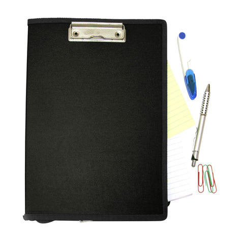 Mobile Ops Recycled Clipboard Vertical BLACK (61664)