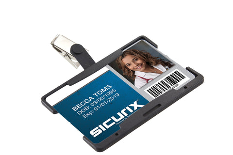 SICURIX Vertical Badge Reel/Card Holder (BAU68171)