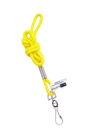 SICURIX Standard Lanyard Hook Rope Style Yellow (68907)