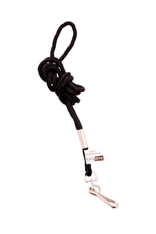 SICURIX Lanyard with 2 J hooks BLACK 24 Pack (68994)