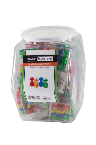 Zeüs Kaleidoscope Magnets Hexagonal Tub Display of 48 ASSORTED Colors (66399)