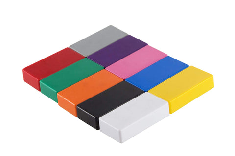 Baumgartens Rectangular Magnet ASSORTED COLORS (66350)