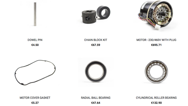 Keep Your Hoist Up and Running with CM Replacement Parts