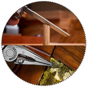 All Locking Features - Every tool will lock into place
