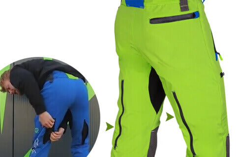 Abortec Trousers Back