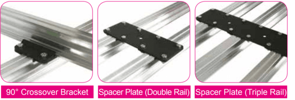 Doughty Studio Rail - Brackets