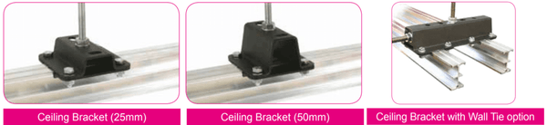 Doughty Studio Rail - Ceiling Bracket