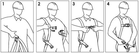 How to Wear Safety Harness?