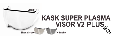KASK Visor V2 Plus